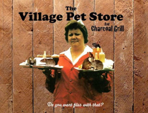 Banksy –  The Village Pet Store and Charcoal Grill