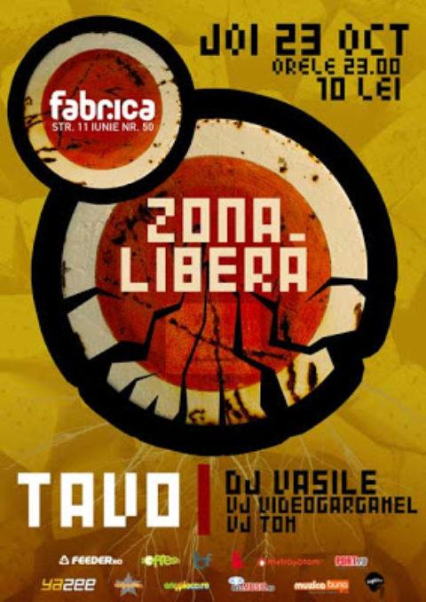 Zona Libera @ Fabrica (in fiecare joi)