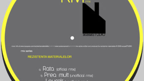 Rezistenta Materialelor Live Set + New EP