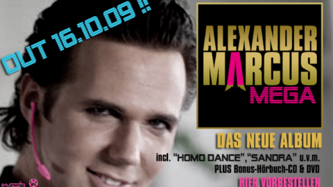 Alexander Marcus – New album: MEGA & Hawaii Toast Song (video)