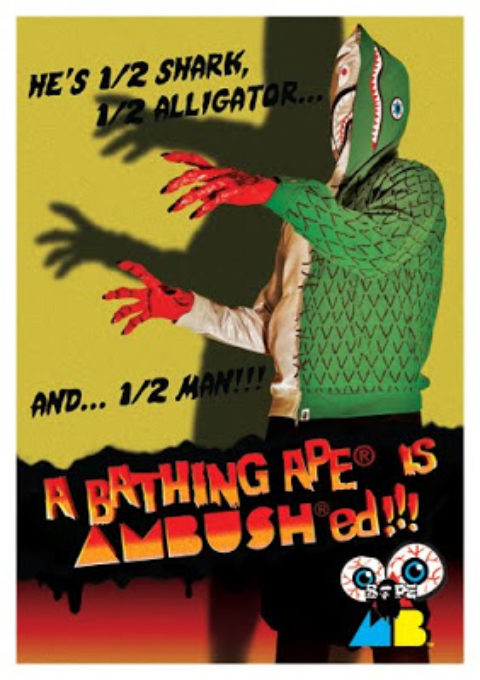 """A Bathing Ape® is AMBUSH®ed!!!"""