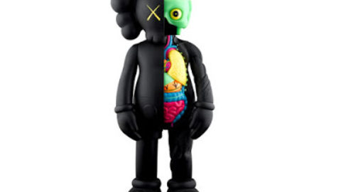 OF COMPANION 4′ (Black Version) by KAWS