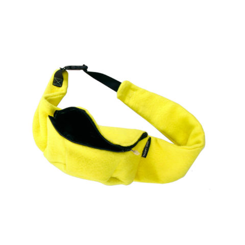 yellow fannypack