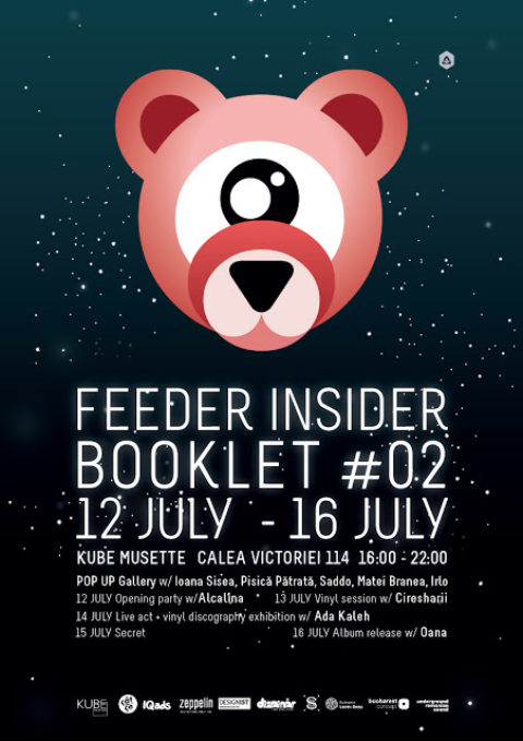 feeder insider booklet #02 pop up gallery @ Kube Musette
