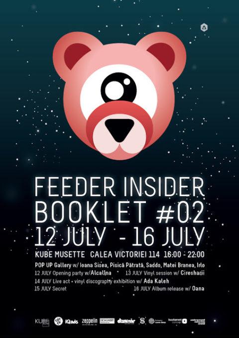 feeder insider booklet #02 pop up gallery @ Kube Musette