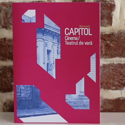 Booklet Cinema/ Teatrul de vară Capitol