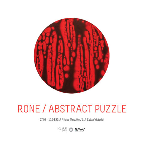 rone abstract puzzle kube musette
