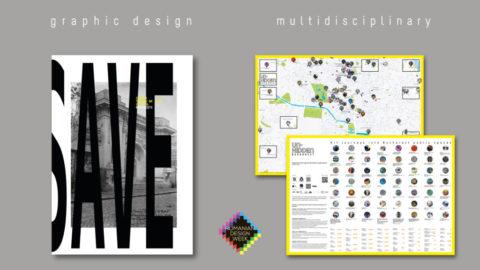 The Un-hidden Bucharest map and CAPITOL booklet @ Romanian Design Week 2019