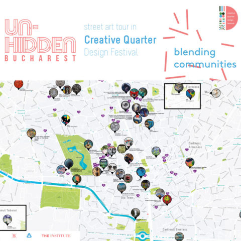 Un-hidden Bucharest Street Art Tours | The Creative Quarter Design Festival edition