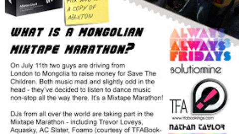 MONGOLIAN MIXTAPE MARATHON