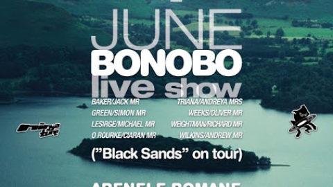 Bonobo live show @ Bucuresti// RO