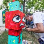 Un-hidden Bucharest Pisica Pătrată -Totem @ Lente