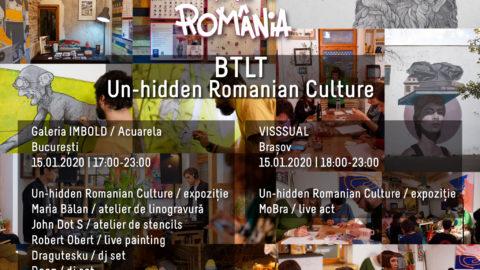 Vezi imagini de la evenimentele Un-hidden Romanian Culture, organizate cu ocazia Zilei Culturii Naționale