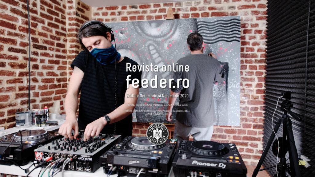 revista online feeder.ro 2020 feeder.ro live w/ Primărie & Pisica Pătrată
