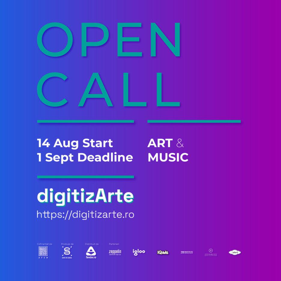 digitizArte.ro open call