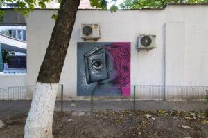 Pisica Pătrată x Street Art București la BMB