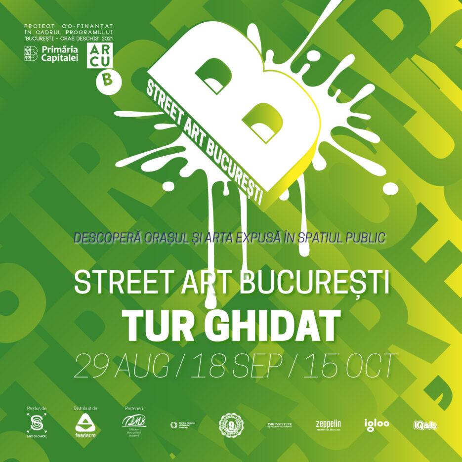 tururi ghidate Street Art București