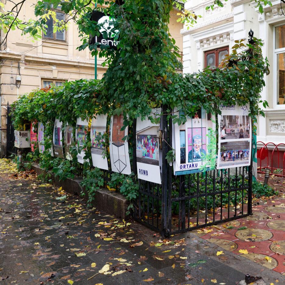Vizitează expoziția Street Art București la Lente și online